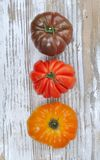 Rustic tomatoes Royalty Free Stock Photos