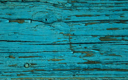 Rustic turquoise wooden background, photo texture. Top view royalty free stock image