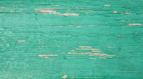 Rustic turquoise wooden background, photo texture. Top view stock photos