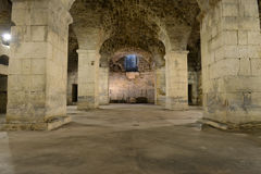 Rustic Underground Room royalty free stock image