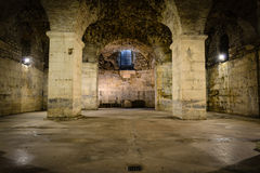 Rustic Underground Room royalty free stock photos