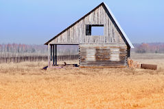 Rustic unfinished house. Royalty Free Stock Photography