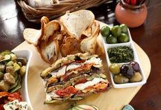 Rustic Vegetarian Platter Stock Photography
