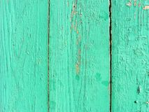 Rustic vertical plank background of green and turquoise, weathered texture with copy space. Rustic vertical plank background of green and turquoise, weathered stock images