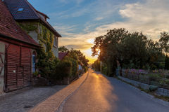 Rustic Village Royalty Free Stock Photography