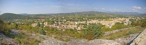 The rustic village of Vaison la Romaine Stock Images