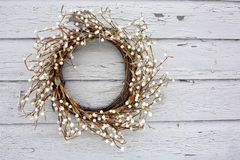 Free Rustic Vine And Berry Wreath Stock Image - 20818961