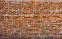 Rustic vintage bakcground of red brick wall. Cladding with cement seams stock photos