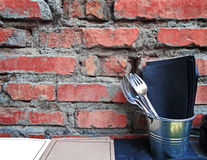 Rustic vintage set of fork Stock Photos