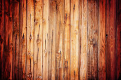 Rustic vintage wood pattern with vignette Royalty Free Stock Photo