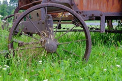 Rustic Wagon Wheel Royalty Free Stock Image