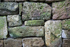 Rustic wall of natural stones as a background Royalty Free Stock Image