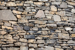 Rustic Wall in a Old Construction Stock Photo
