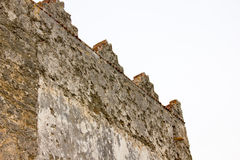 Rustic wall of an old house Royalty Free Stock Images