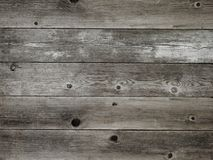 Rustic warm grey weathered barn wood board background stock photography