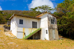 Rustic waterfront accomodations in the caribbean Royalty Free Stock Photos