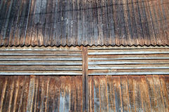 Rustic weathered barn wood background Royalty Free Stock Photo