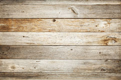 Rustic barn wood background. Rustic weathered barn wood background with knots and nail holes Royalty Free Stock Photos