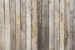 Rustic weathered barn wood background with knots and nail holes Royalty Free Stock Photos