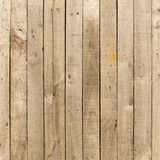 Rustic weathered barn wood background with knots and nail holes Stock Images