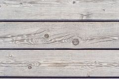 Rustic Weathered Barn Wood Background With Knots And Nail Holes Royalty Free Stock Photography