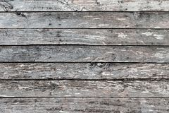 Rustic Weathered Board Wall. A closeup picture of a weathered board wall on an abandoned house royalty free stock photos
