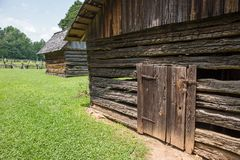Rustic Farm Buildings Royalty Free Stock Photography
