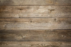 Rustic weathered wood background. With grain and knots Stock Images