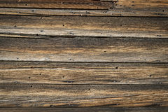 Rustic weathered wood texture background Royalty Free Stock Photo