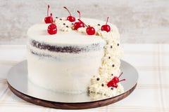 Rustic wedding cake Stock Photo