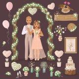Rustic Wedding Design Stock Photo