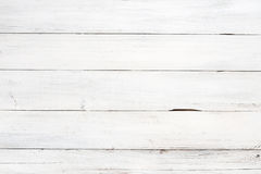 Rustic white wood plank background Royalty Free Stock Image