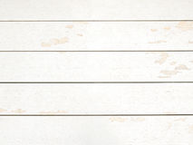 Rustic white wood plank background. Vintage style royalty free stock images