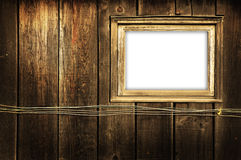 Rustic Window. Text or Picture can be added into window Royalty Free Stock Images