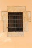 Rustic window outdoors Stock Image