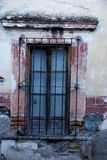 Rustic window, San Miguel de Allende, Mexico Stock Photo