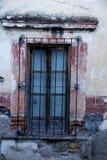 Rustic window, San Miguel de Allende, Mexico Stock Photo