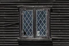 Rustic windows royalty free stock photo
