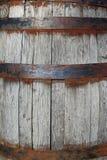 Rustic Wine Barrel. Background at a historic site, Seneca Creek Park MD royalty free stock photo