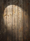 Rustic Wood Background Spotlight Royalty Free Stock Photo