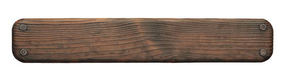 Free Rustic Wood Board With Nails Stock Photography - 158174292