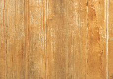 Rustic wood boards at light brown Royalty Free Stock Images