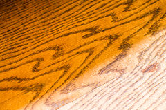 Rustic Wood. Clean wooden background. Closeup of a handmade bench Stock Photos