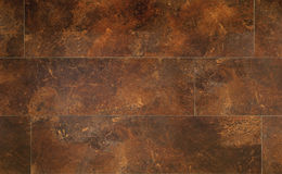 Rustic wood flooring Stock Photography