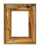 Rustic wood frame Stock Images