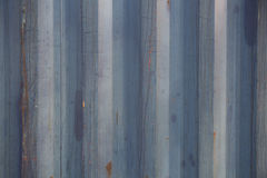 Rustic wood painted blue colour background for designer Stock Images