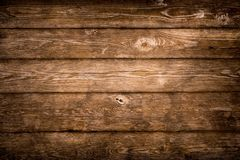 Rustic wood planks background stock photography