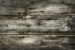 Rustic wood planks background with nice vignetting Stock Photography