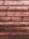 Rustic wood planks on a cabin background Royalty Free Stock Photography