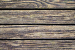 Rustic wood planks closeup. Rough lumber surface. Warm brown wooden background for vintage card Stock Image